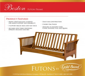 Gold Bond Boston Futon Frame