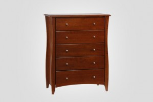 Night & Day Clove 5 Drawer Chest (Cherry)