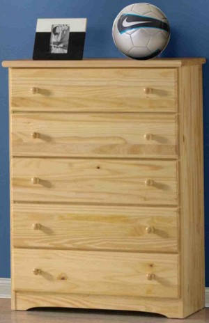 Innovations Ponderosa 5 Drawer Chest (Natural)