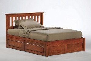 Night & Day Rosemary Platform Bed (Cherry)
