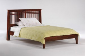 Night & Day Solstice Platform Bed (Cherry)