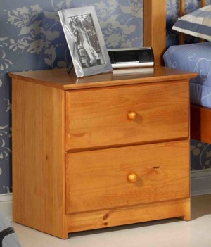 Tuscon 2 Drawer Nightstand