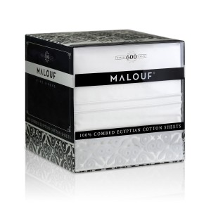 Malouf Woven™ 600 TC Egyptian Cotton Sheets