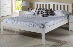 Innovations Milan Platform Bed (White)