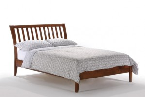 Night & Day Nutmeg Platform Bed (Cherry)