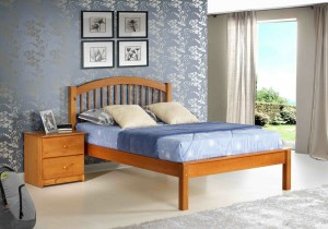 Innovations Orleans Platform Bed (Pecan)