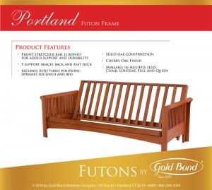 Gold Bond Portland Futon Frame