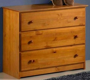 Innovations Tucson 3 Drawer Single Dresser