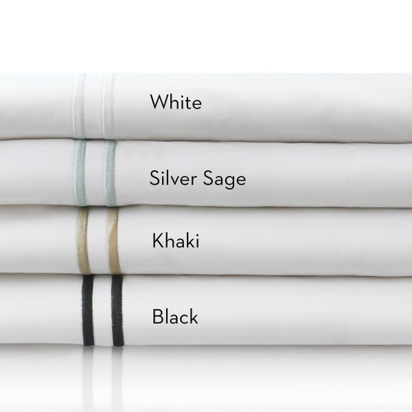 Malouf Woven™ 200 TC Cotton Percale Sheets - Colors