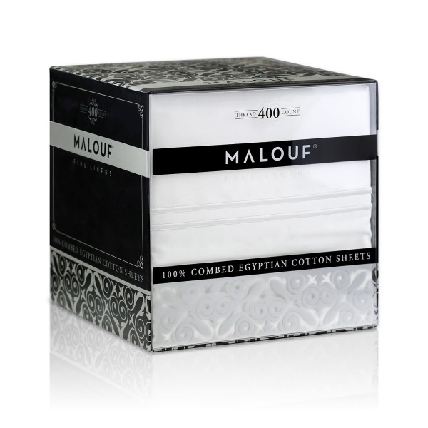 Malouf Woven™ 400 TC Egyptian Cotton Sheets