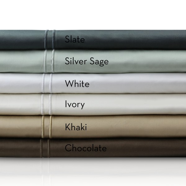 Malouf Woven™ 400 TC Egyptian Cotton Sheets - Colors