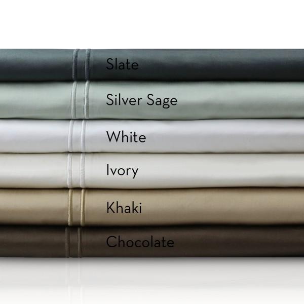Malouf Woven™ 600 TC Egyptian Cotton Sheets - Colors
