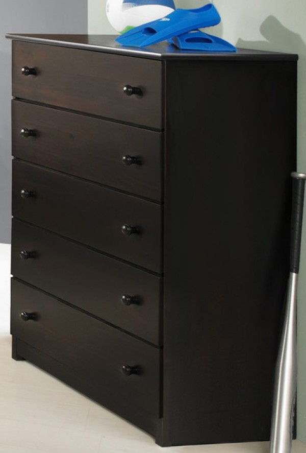 Innovations Espresso 5 Drawer Chest