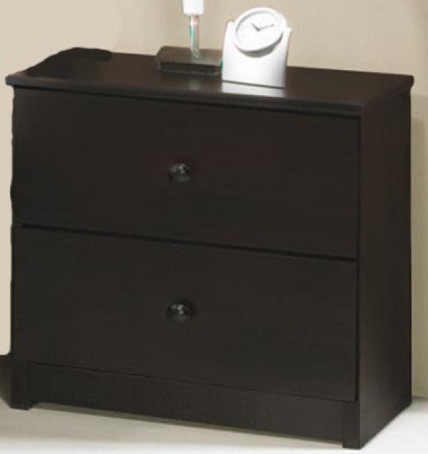 Innovations Espresso 2 Drawer Nightstand