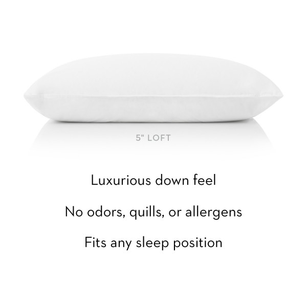 Malouf Z Gelled Microfiber Pillow - Description