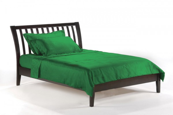 Night & Day Nutmeg Platform Bed (Chocolate)