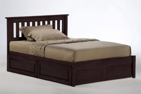 Night & Day Rosemary Platform Bed (Chocolate)
