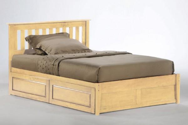 Night & Day Rosemary Platform Bed (Natural)