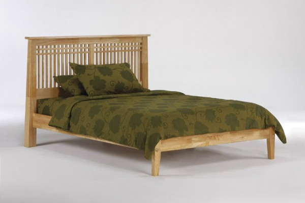 Night & Day Solstice Platform Bed (Natural)
