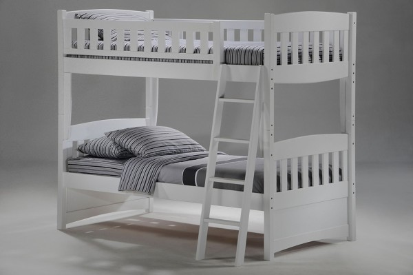 Night & Day Cinnamon Bunk (White)