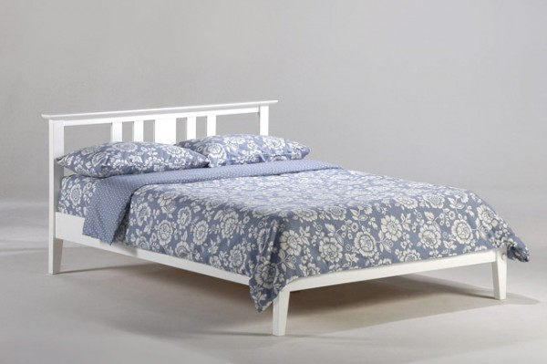 Night & Day Thyme Platform Bed (White)